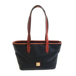 DOONEY & BOURKE All Weather Leather Black Tote Bag